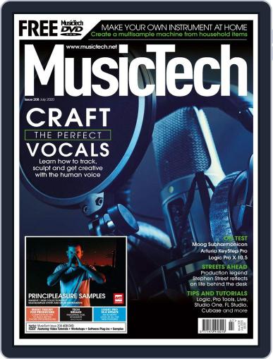 Music Tech July 1st, 2020 Digital Back Issue Cover