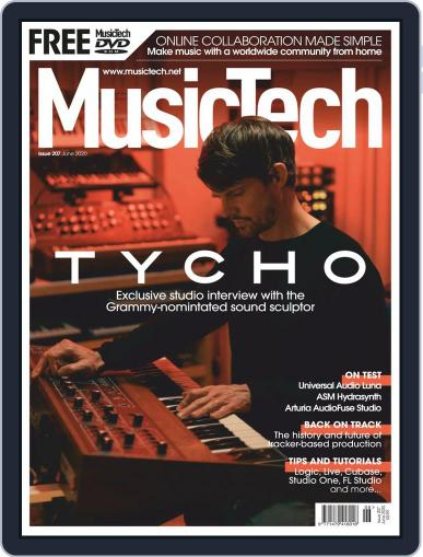 Music Tech June 1st, 2020 Digital Back Issue Cover