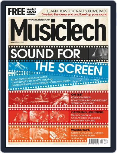 Music Tech April 1st, 2020 Digital Back Issue Cover