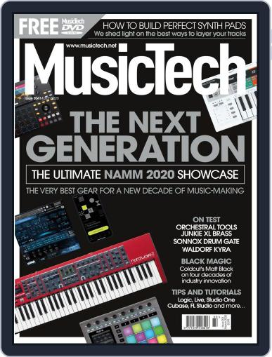 Music Tech March 1st, 2020 Digital Back Issue Cover