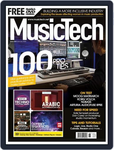 Music Tech (Digital) February 1st, 2020 Issue Cover