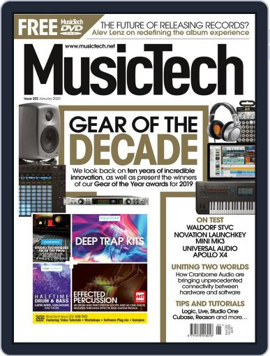 Music Tech January 1st, 2020 Digital Back Issue Cover