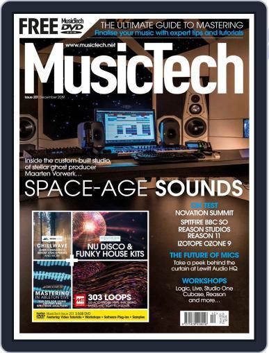 Music Tech December 1st, 2019 Digital Back Issue Cover