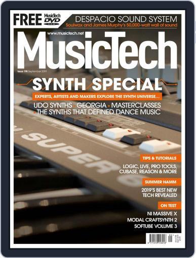 Music Tech (Digital) September 1st, 2019 Issue Cover