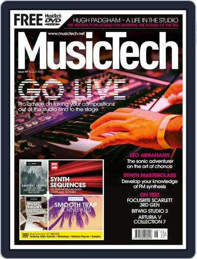 Music Tech (Digital) August 1st, 2019 Issue Cover