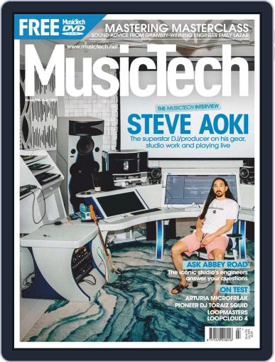 Music Tech July 1st, 2019 Digital Back Issue Cover