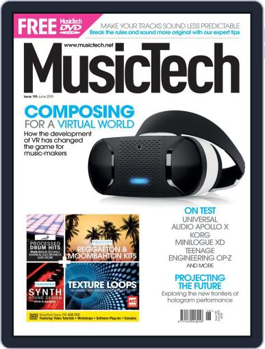 Music Tech (Digital) June 1st, 2019 Issue Cover