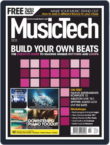 Music Tech (Digital) April 1st, 2019 Issue Cover