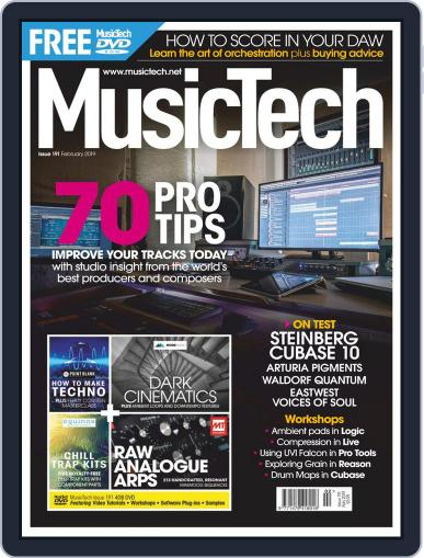 Music Tech February 1st, 2019 Digital Back Issue Cover