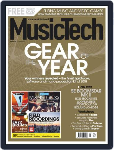Music Tech (Digital) January 1st, 2019 Issue Cover