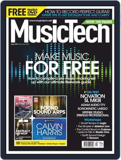 Music Tech (Digital) December 1st, 2018 Issue Cover