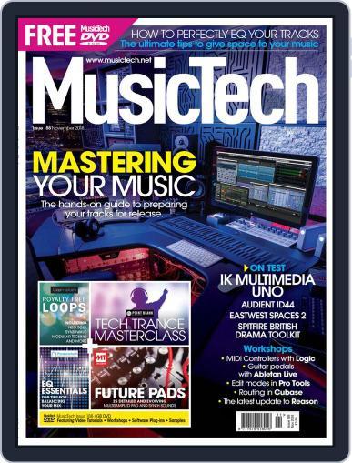Music Tech (Digital) November 1st, 2018 Issue Cover