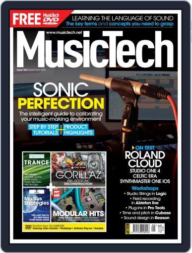 Music Tech September 1st, 2018 Digital Back Issue Cover