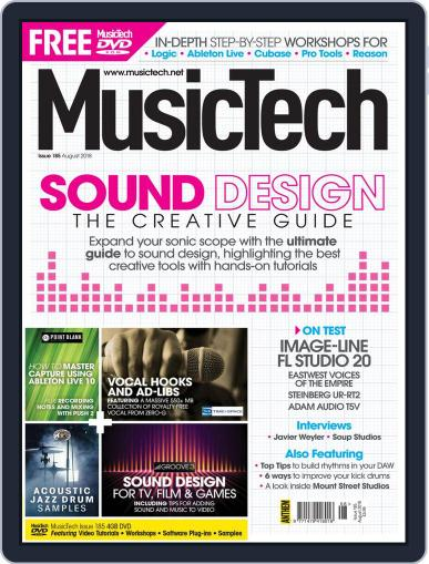 Music Tech (Digital) August 1st, 2018 Issue Cover