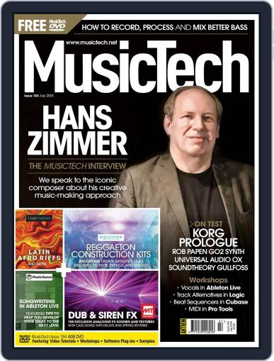 Music Tech (Digital) July 1st, 2018 Issue Cover
