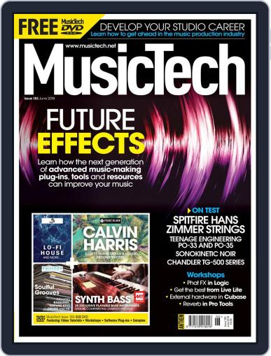 Music Tech (Digital) June 1st, 2018 Issue Cover