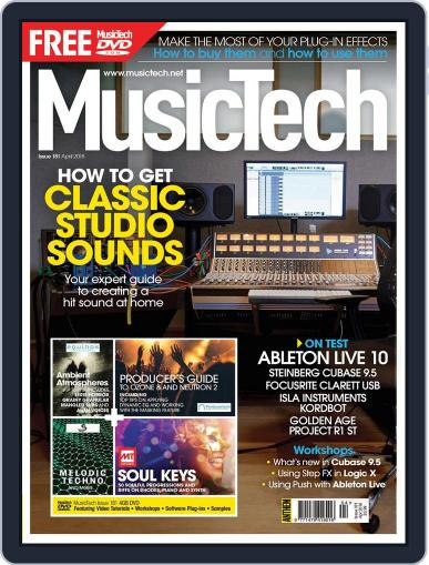 Music Tech April 1st, 2018 Digital Back Issue Cover