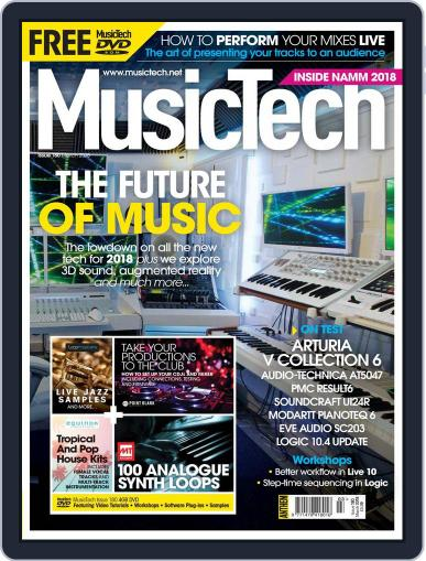 Music Tech (Digital) March 1st, 2018 Issue Cover