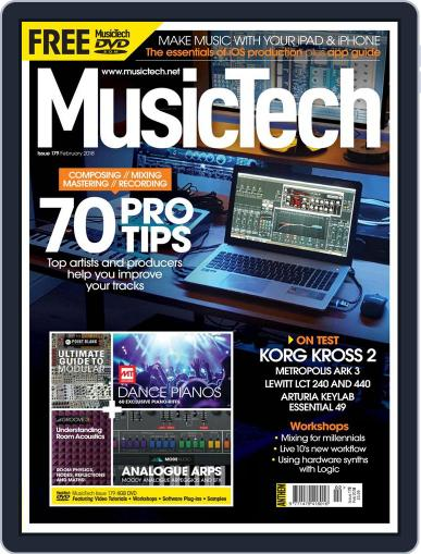 Music Tech (Digital) February 1st, 2018 Issue Cover