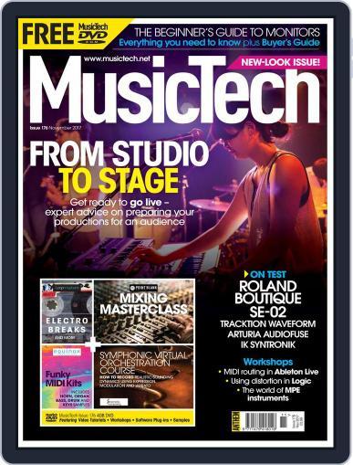 Music Tech (Digital) November 1st, 2017 Issue Cover