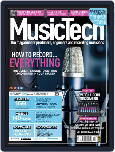 Music Tech October 1st, 2017 Digital Back Issue Cover