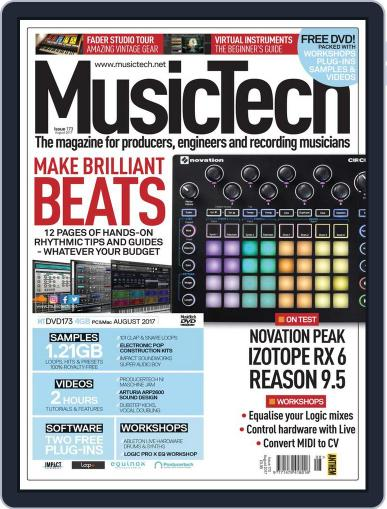 Music Tech (Digital) August 1st, 2017 Issue Cover