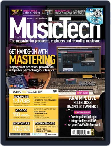 Music Tech (Digital) July 1st, 2017 Issue Cover