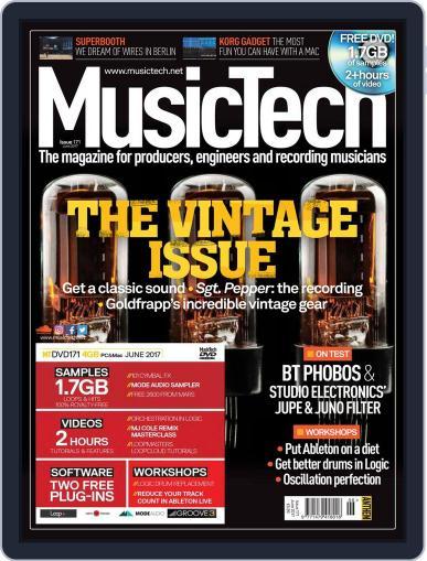 Music Tech June 1st, 2017 Digital Back Issue Cover