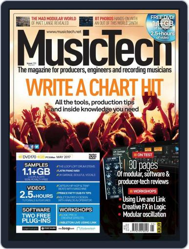 Music Tech (Digital) May 1st, 2017 Issue Cover