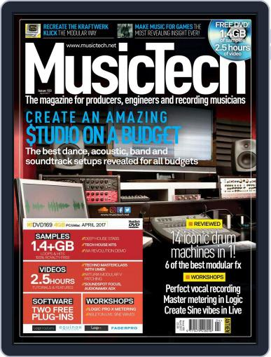 Music Tech (Digital) April 1st, 2017 Issue Cover
