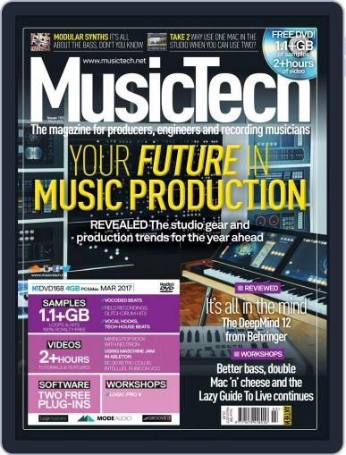 Music Tech (Digital) March 1st, 2017 Issue Cover