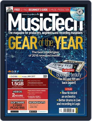 Music Tech (Digital) January 1st, 2017 Issue Cover
