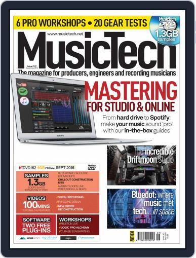 Music Tech (Digital) September 1st, 2016 Issue Cover