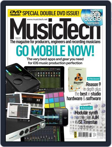 Music Tech (Digital) July 21st, 2016 Issue Cover