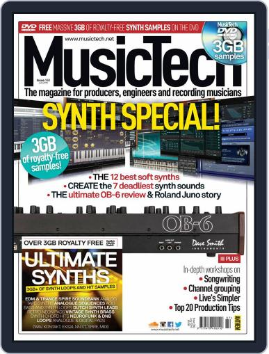 Music Tech (Digital) June 16th, 2016 Issue Cover