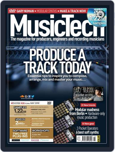 Music Tech April 25th, 2016 Digital Back Issue Cover