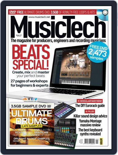 Music Tech March 22nd, 2016 Digital Back Issue Cover