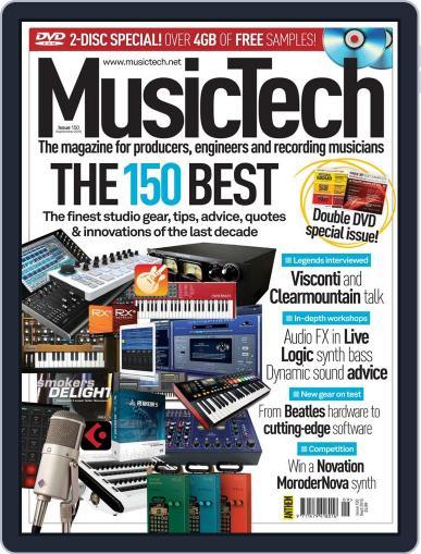 Music Tech (Digital) September 1st, 2015 Issue Cover