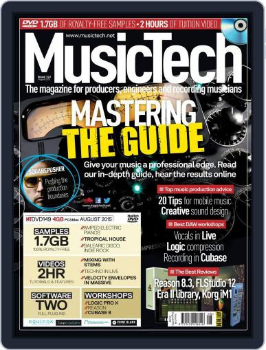 Music Tech (Digital) July 15th, 2015 Issue Cover