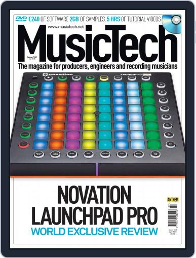 Music Tech June 25th, 2015 Digital Back Issue Cover