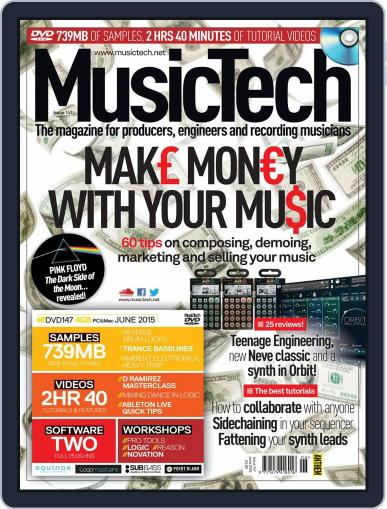 Music Tech (Digital) May 27th, 2015 Issue Cover