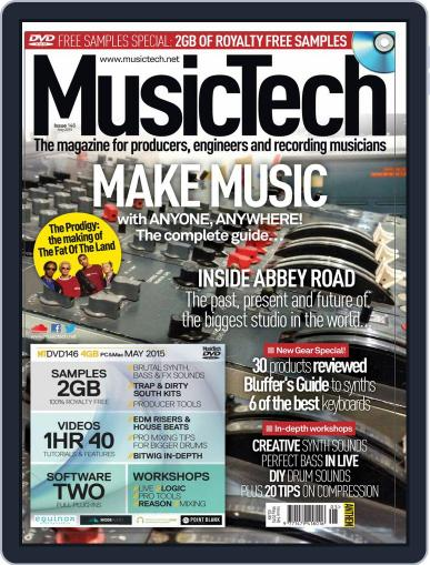 Music Tech April 20th, 2015 Digital Back Issue Cover