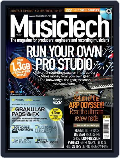 Music Tech (Digital) March 23rd, 2015 Issue Cover