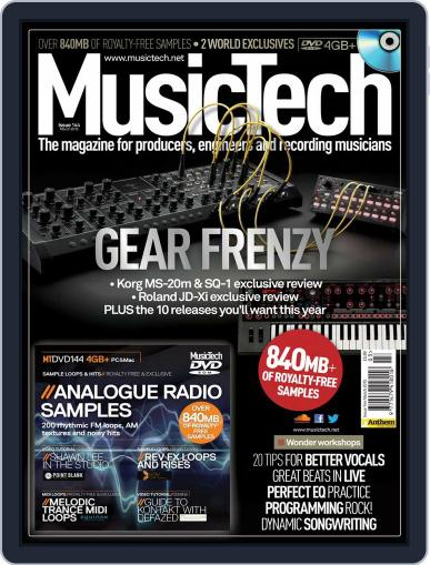 Music Tech (Digital) February 18th, 2015 Issue Cover