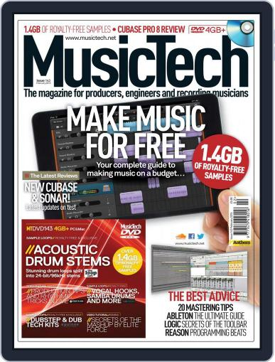 Music Tech (Digital) January 20th, 2015 Issue Cover
