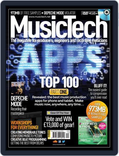 Music Tech (Digital) November 19th, 2014 Issue Cover
