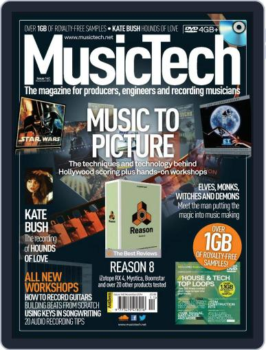 Music Tech (Digital) October 20th, 2014 Issue Cover