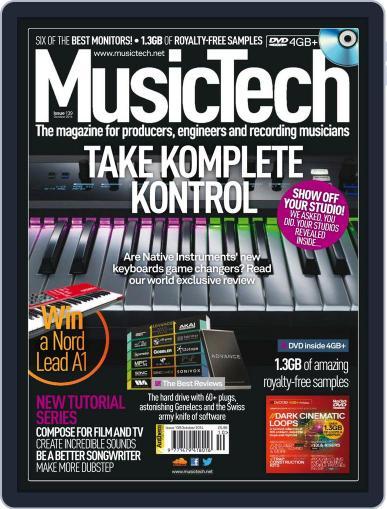 Music Tech (Digital) September 24th, 2014 Issue Cover