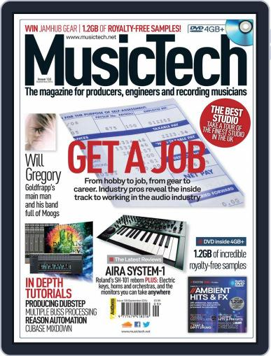 Music Tech (Digital) August 26th, 2014 Issue Cover