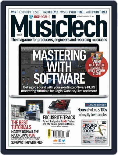 Music Tech (Digital) July 16th, 2014 Issue Cover